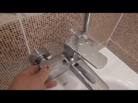 Красивая ванная комната, от начала и до конца!