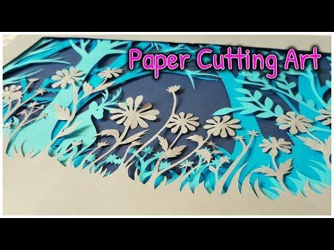 Layered Paper Cutting Art   #3    Kalon In Art