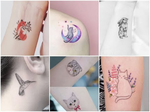 Inspirational  Small Animals And Birds Tattoo Design Ideas