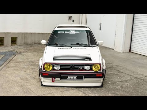 VW GOLF MK2 GTI WIDEBODY BBS TUNING PROJECT 🔧