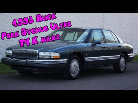 1993 buick park avenue ultra supercharged 4 door sedan with leather only 74k miles youtube. Black Bedroom Furniture Sets. Home Design Ideas