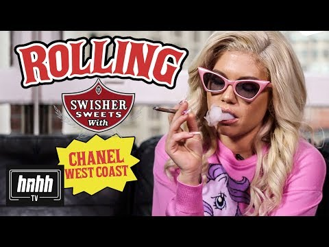How to Roll a Swisher Sweet with Chanel West Coast (HNHH)