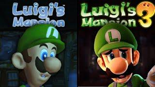 Luigi's Mansion 3 vs Luigi's Mansion | Direct Comparison