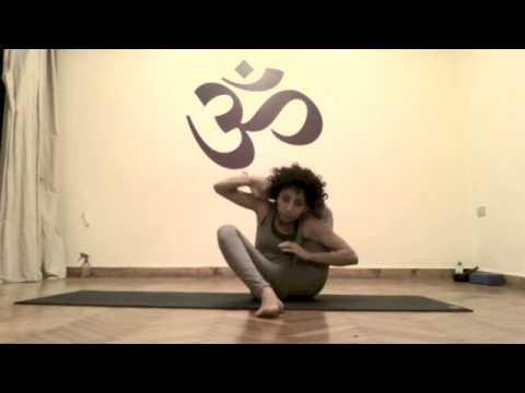 astanga yoga dwi pada sirsasana double leg behind head