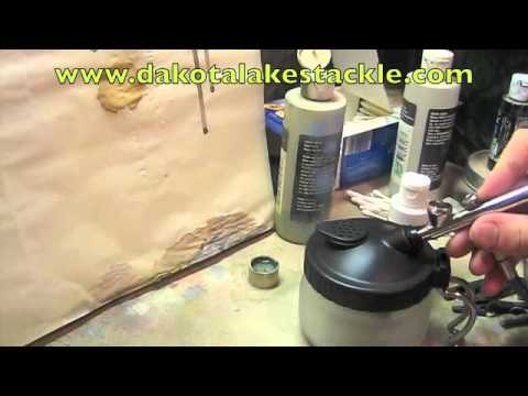 Cleaning your airbrush in between colors