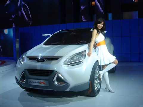 The Girls of Shanghai Motor Show
