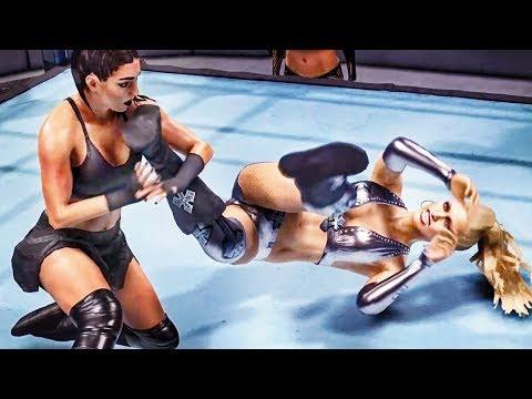 WWE 2k19: Sonya Deville vs Michelle McCool Ankle Hold Leg Lock Submission letöltés