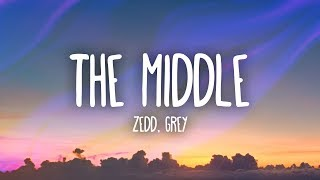 Video Zedd, Grey - The Middle (Lyrics) ft. Maren Morris download MP3, 3GP, MP4, WEBM, AVI, FLV Oktober 2018
