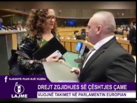 ALDE conference European Parliament 9 january 2018 Festim Lato