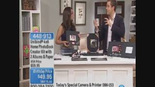 Photobook Creator on Home Shopping Network with Katie Linendoll and Adam Freeman