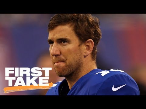 Should the Giants bench Eli Manning? | First Take | ESPN