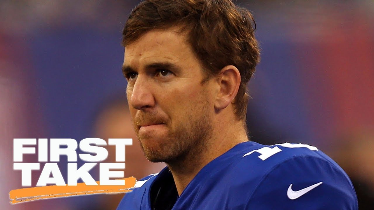 Should the Giants bench Eli Manning First Take