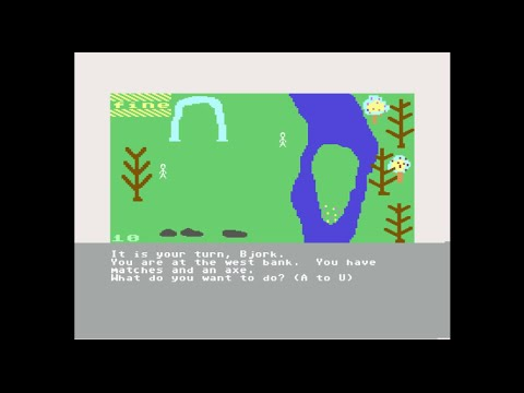C64: Raft-Away River