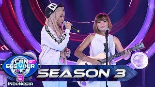 Luar Biasa! CUTE MONSTER Teman Duet yg Cocok Buat Ayu IDOL - I Can See Your Voice Indonesia (2/6)
