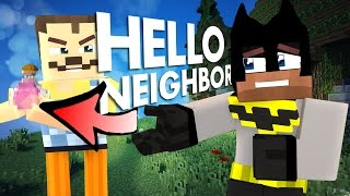 Minecraft Hello Neighbor - A Deal with the Devil for a Potion (minecraft Roleplay)