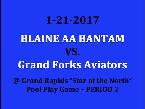 1-21-2017 vs. Grand Forks Aviators (Pool Play) Period 2