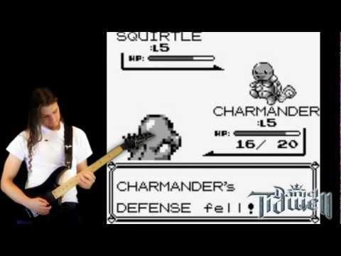 Trainer Battle (Pokémon Red, Blue and Yellow) Metal/Rock version on guitar mp3
