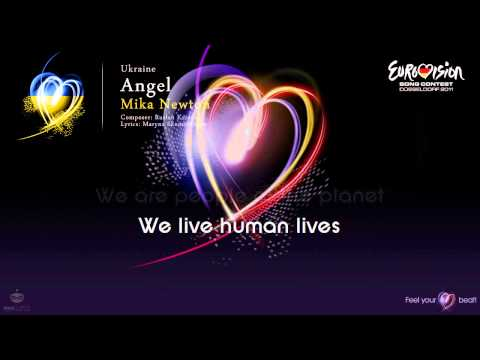 "Mika Newton - ""Angel"" (Ukraine) - [Karaoke version]"