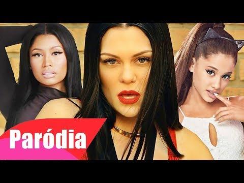 Jessie J - Bang Bang feat. Ariana Grande and Nicki Minaj (Paródia/Redublagem)