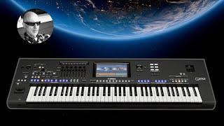 Sad Country Music - Floyd's Last Date - Yamaha GENOS Piano Country Ballad