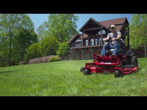 Most Comfortable Zero Turn Mower with MyRIDE® Suspension - 2018