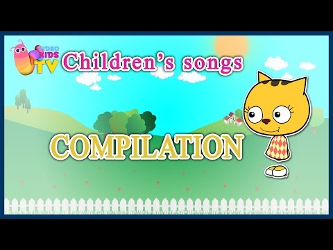 ♫♪  THERE WAS A SHEPHERDESS, TWO AUSTRIANS AND OTHERS   ♫♪ children's song cartoons