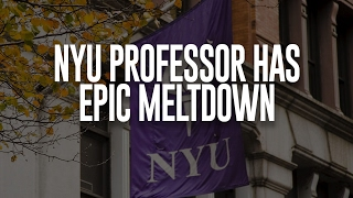 Virtue Signaling Gone Wild 1: NYU Professor Has Meltdown, Orders Cops to Assault Trump Supporters