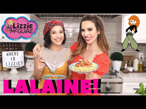 Lizzie McGuire's LALAINE And Kim Possible Get Saucy!!!