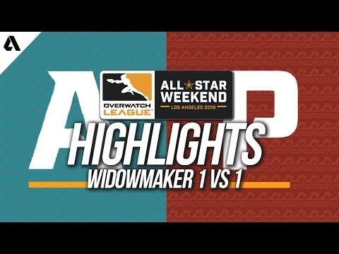 Unduh lagu Widowmaker 1v1 | Overwatch League All-Star Weekend Highlights Mp3 terbaru