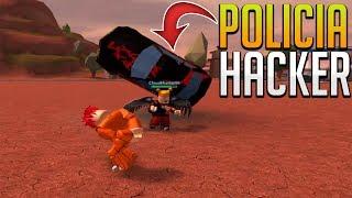 POLICIA HACKER CON SUPER PODERES - Jailbreak (Beta) - ROBLOX