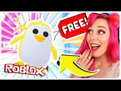 How To Get A FREE Legendary GOLDEN PENGUIN In Adopt Me.. Roblox Adopt Me NEW PENGUIN Update