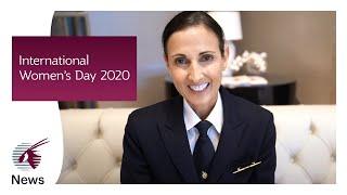 International Women's Day at the Qatar Airways Group