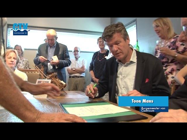 Opening Duynkant van Werkgroep Oud-Castricum