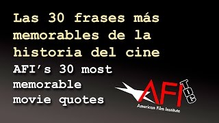 Las mejores frases de la historia del cine - Best Movie Quotes of All Time Compilation