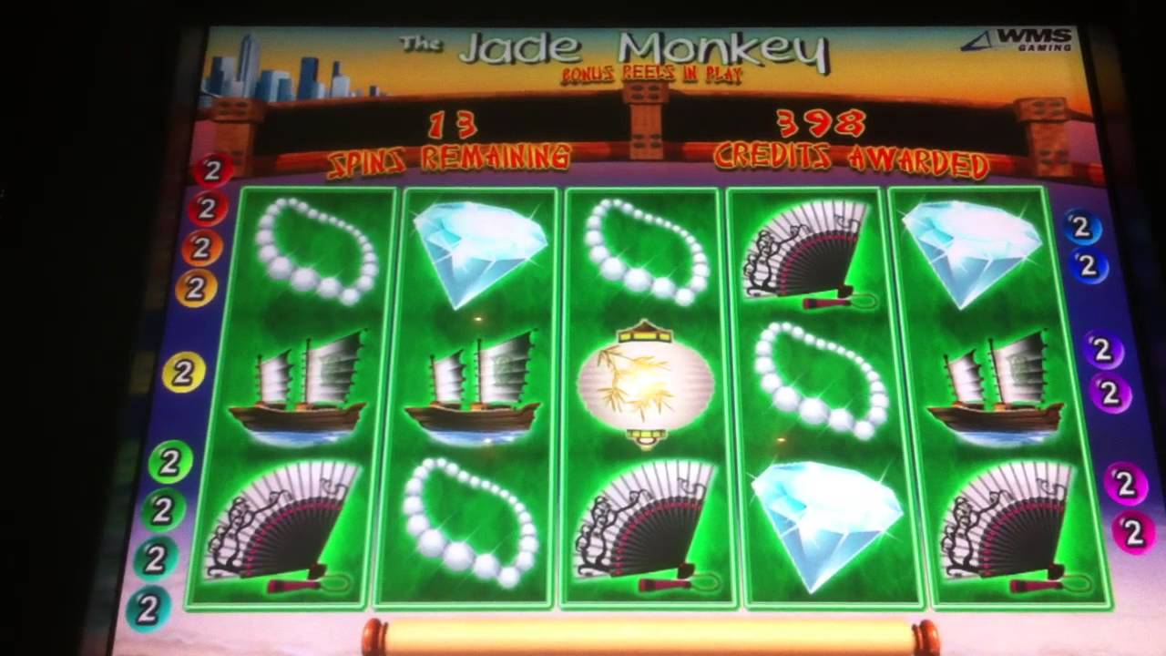 JADE MONKEY SLOT MACHINE 56 FREE SPINS - YouTube