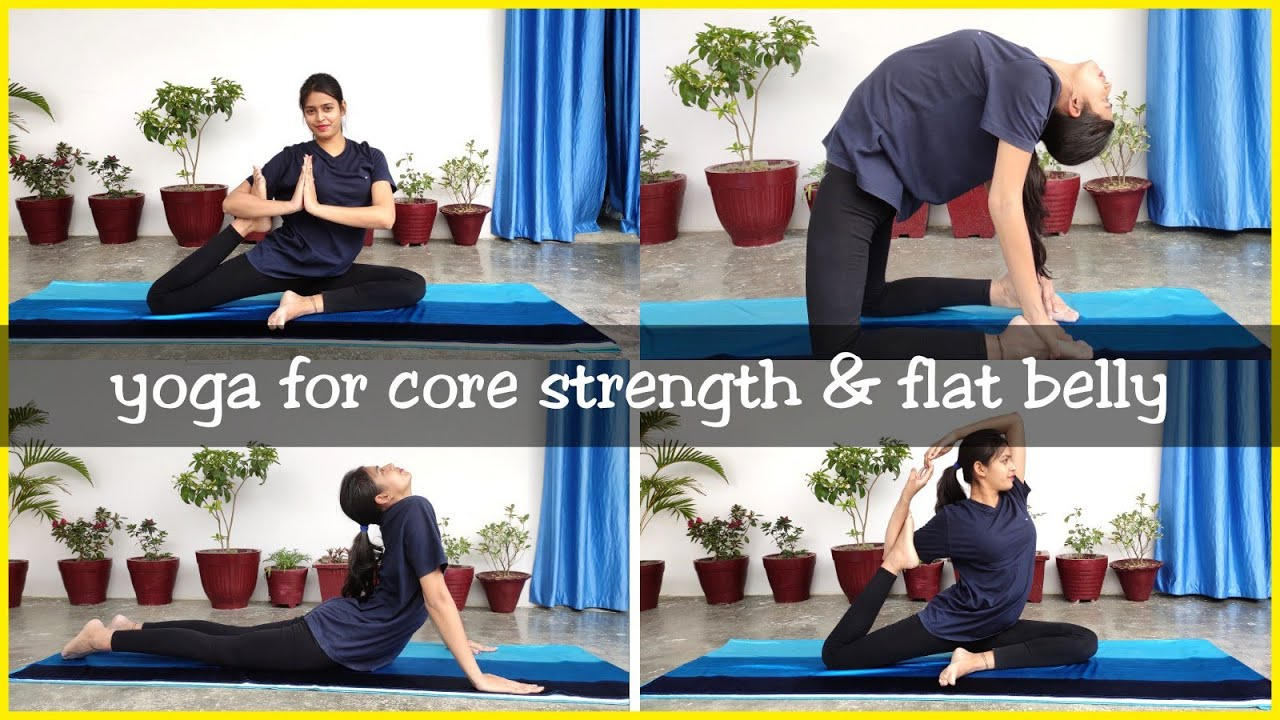 BASIC YOGA POSE for CORE STRENGTH | FLAT BELLY | Health & Fitness