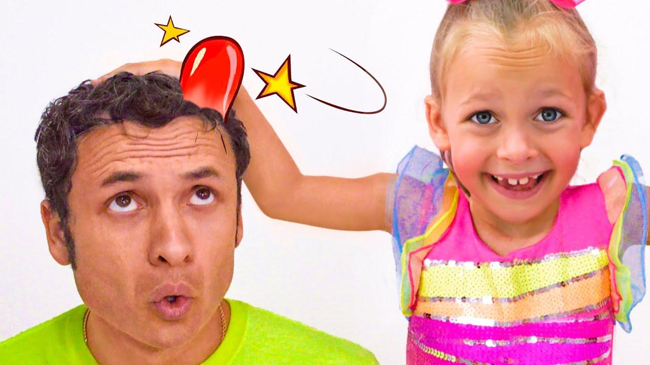 Boo Boo historia con los padres +otras Canciones infantiles de Maya y Mary