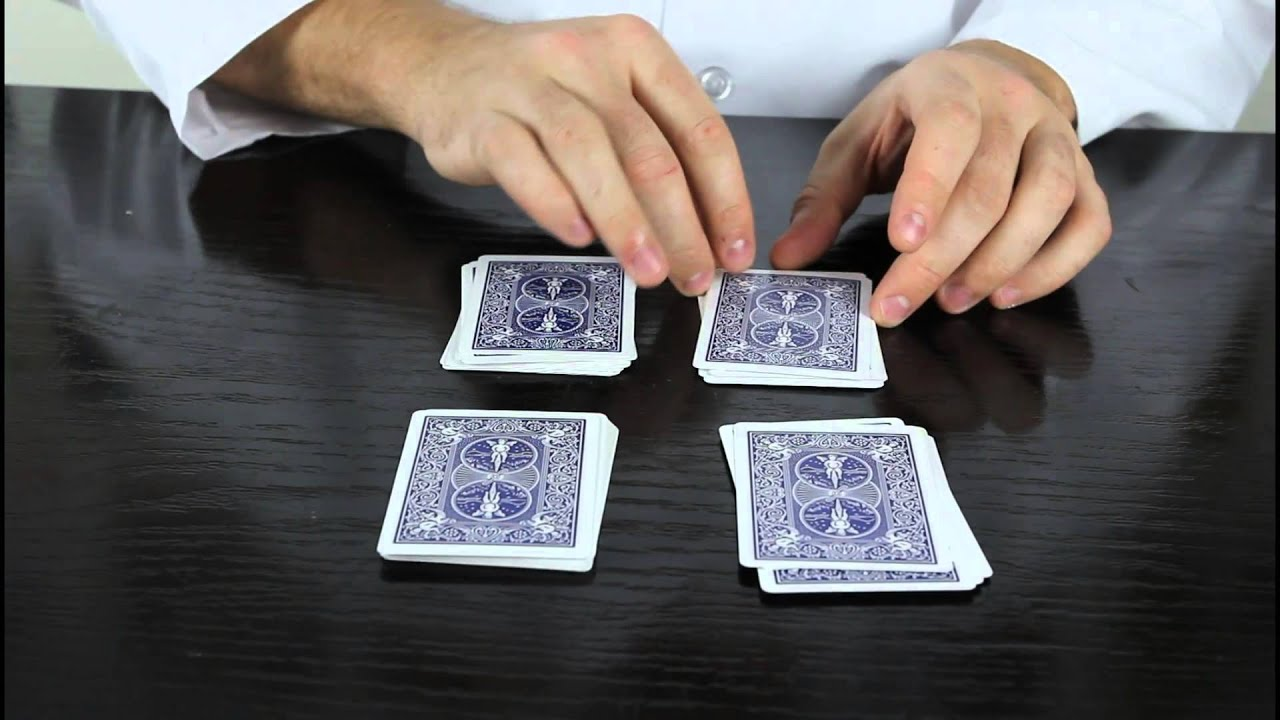 5 cool easy card tricks for beginner! youtube