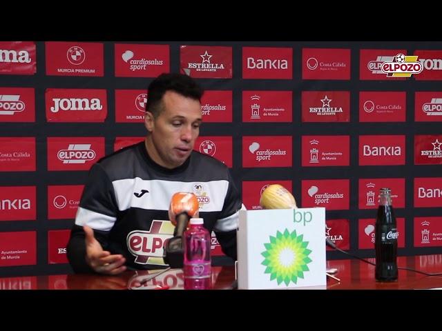 Rueda de Prensa Diego Giustozzi Previa Jaén
