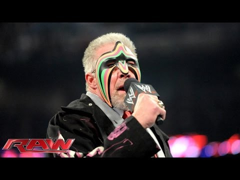 2014 WWE Hall of Famer Ultimate Warrior speaks: Raw, April 7, 2014