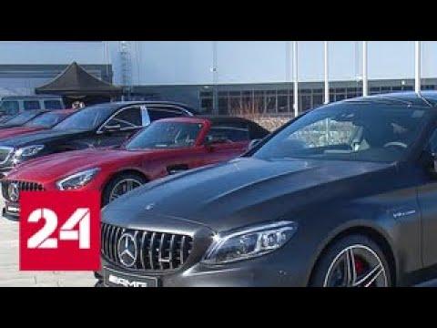 25 тысяч автомобилей в год Путин открыл завод Mercedes