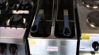 Valentine Double Pan Double Basket Electric Fryer