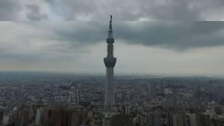 Drone Flights Japan-Tokyo FullHD