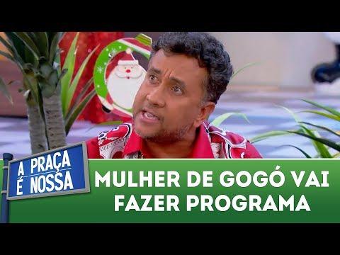 Mulher de Gogó vai fazer programa | A Praça é Nossa (21/12/17)