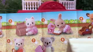 Baby Shopping Series Sylvanian Families какой малыш нам попадётся