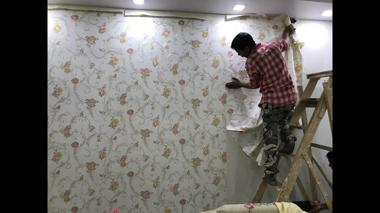 How To Wallpaper Pasting In Living Room Wallpaper Ideas