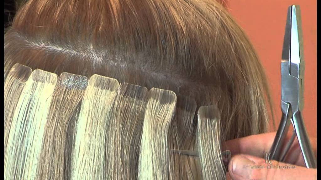Di Biase Sticker Hair Extensions Youtube