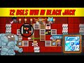 FIRST TIME PLAYING BJ   WIN 12 BGLS   CASINO #19   Growtopia