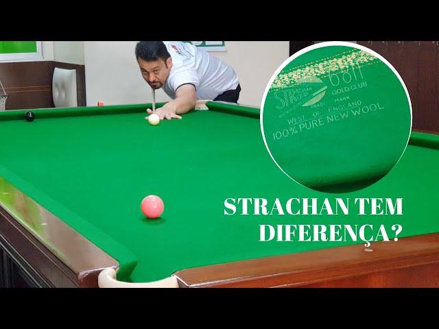 Strachan - O pano do Mundial de Snooker