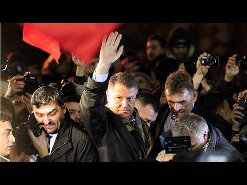 Surprise victor Klaus Iohannis wins in Romanian presidential election